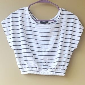 Forever 21 Striped Crop Top NWT